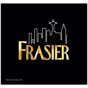 Load image into Gallery viewer, Frasier Logo Adult Mask Design Full View