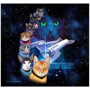 Star Trek Cast of Cats Adult Mask Design Full View