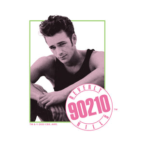 Beverly Hills 90210 Dylan Adult Mask Design Full View