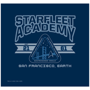 Load image into Gallery viewer, Star Trek Starfleet Academy Earth Adult Mask Design Full View