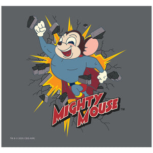 Mighty Mouse Break Through Adult Mask Design Full View