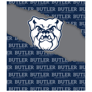 Butler University Bulldogs Ripped Through Kids Mask Design Full View
