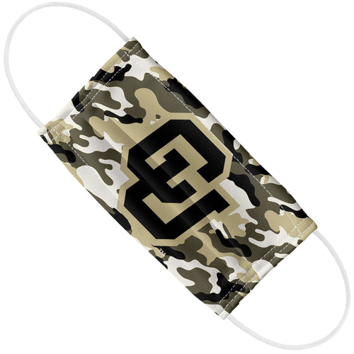 University of Colorado Boulder Buffaloes Camo Adult Flat View