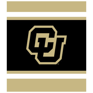 University of Colorado Classic Kids Mask Design Full View