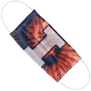 University of Illinois Fighting Illini Tie Dye Adult Flat View
