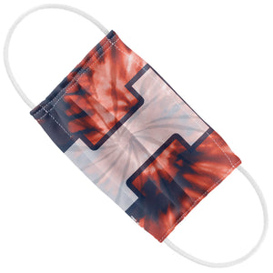 Load image into Gallery viewer, University of Illinois Fighting Illini Tie Dye Kids Flat View