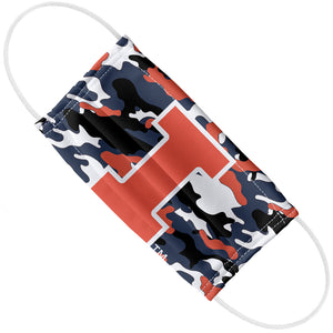 Load image into Gallery viewer, University of Illinois Fighting Illini Camo Adult Flat View