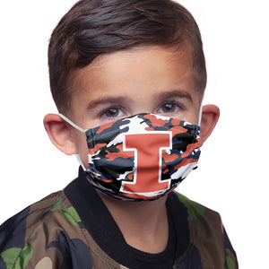 Load image into Gallery viewer, University of Illinois Fighting Illini Camo Kids Main Model View