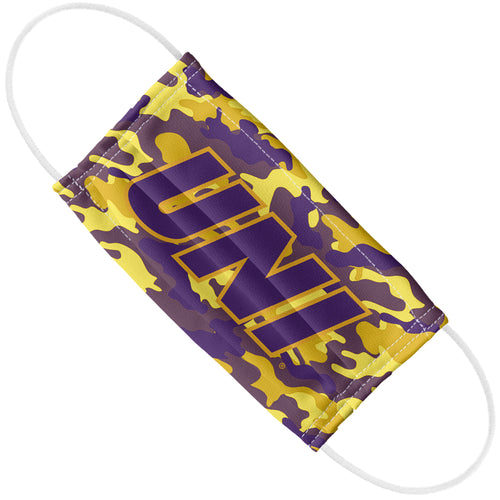University of Northern Iowa Panthers Camo Adult Flat View