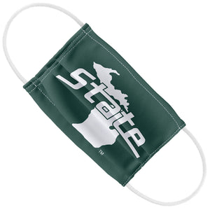 Michigan State University Spartans - MSU Home Kids Flat View