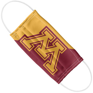 University of Minnesota Gophers Maroon and Gold Adult Flat View