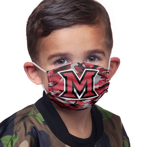 Load image into Gallery viewer, Miami University Ohio Camo Kids Main Model View