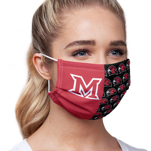Miami University RedHawks Split Logo Pattern Adult Main/Model View