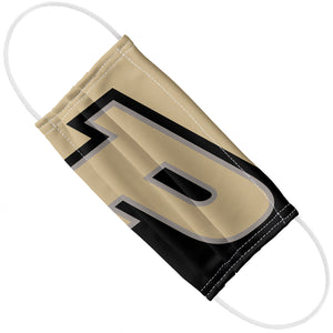 Purdue Boilermakers Logo Gold Adult Flat View