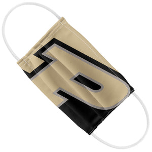 Purdue Boilermakers Logo Gold Kids Flat View