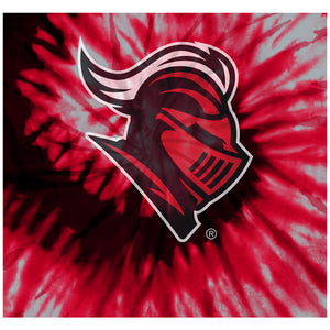 Rutgers University Scarlet Knights Tie Dye Adult Mask Design Full View