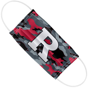 Rutgers University Scarlet Knights Camo Adult Flat View
