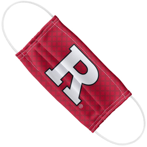 Rutgers University - Primary Logo White Adult Flat View