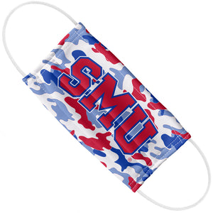 Load image into Gallery viewer, Southern Methodist University - SMU Mustangs Camo Adult Flat View