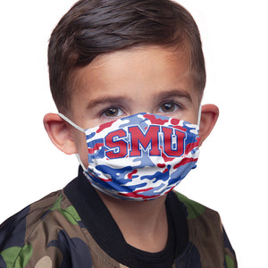 Load image into Gallery viewer, Southern Methodist University - SMU Mustangs Camo Kids Main Model View