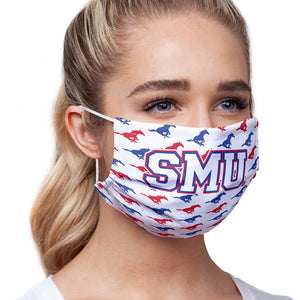 Load image into Gallery viewer, Southern Methodist University - SMU Mustangs Mascot White Adult Main/Model View