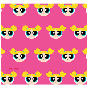 Load image into Gallery viewer, Powerpuff Girls Bubbles Head Pattern Adult Mask Design Full View