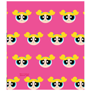 Load image into Gallery viewer, Powerpuff Girls Bubbles Head Pattern Kids Mask Design Full View
