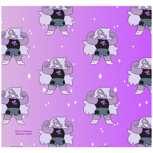 Steven Universe Amethyst Pattern Adult Mask Design Full View