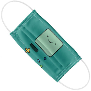 Adventure Time BMO Face Adult Flat View