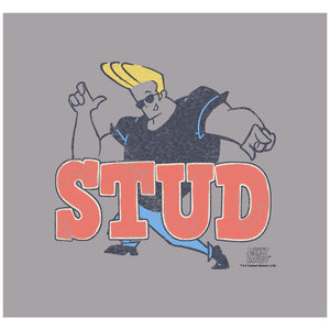 Load image into Gallery viewer, Johnny Bravo Stud Adult Mask Design Full View