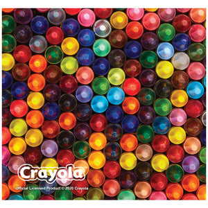 Crayola Crayon Tips Adult Mask Design Full View