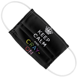 Crayola Keep Calm and Cray-on Kids Flat View