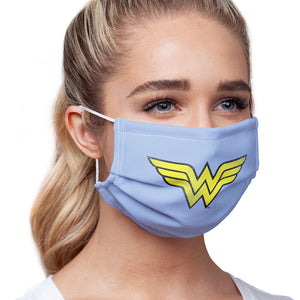 Wonder Woman Logo Distressed Adult Main/Model View