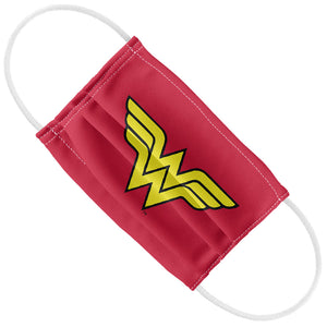 Wonder Woman Classic Logo Kids Flat View
