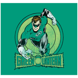 Load image into Gallery viewer, Green Lantern Circle Adult Mask Design Full View