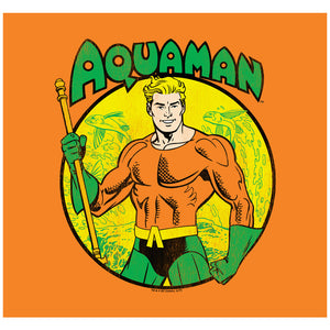 Load image into Gallery viewer, Aquaman Circle Adult Mask Design Full View