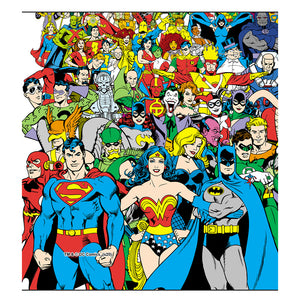 Load image into Gallery viewer, Justice League Original Universe Team Kids Mask Design Full View