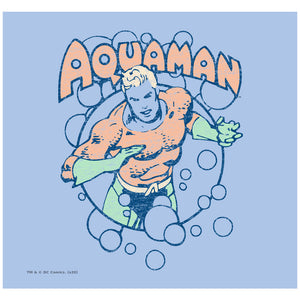 Aquaman Swimming Bubbles Adult Mask Design Full View