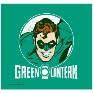 Green Lantern Lantern Circle Adult Mask Design Full View