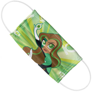 Load image into Gallery viewer, DC Super Hero Girls Green Lantern Pattern Adult Flat View