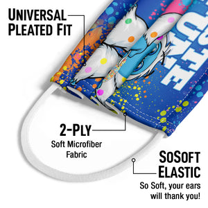 Dippin' Dots Taste the Fun Kids Universal Pleated Fit, 2-Ply, SoSoft Elastic Earloops