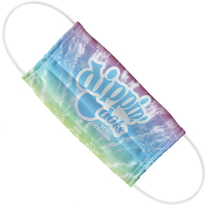 Load image into Gallery viewer, Dippin' Dots Rainbow Ice Tie Dye Adult Flat View