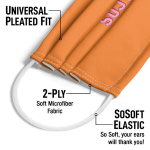 Delish Insert Tacos Here Adult Universal Pleated Fit, 2-Ply, SoSoft Elastic Earloops