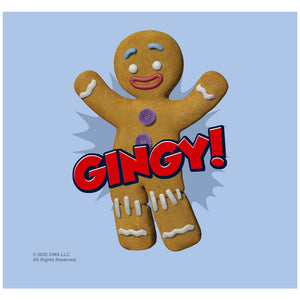 Load image into Gallery viewer, Shrek Gingy Adult Mask Design Full View
