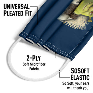 Load image into Gallery viewer, Shrek Happens Adult Universal Pleated Fit, 2-Ply, SoSoft Elastic Earloops
