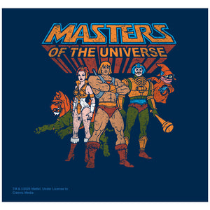 Masters of the Universe Team of Heroes Adult Mask Design Full View