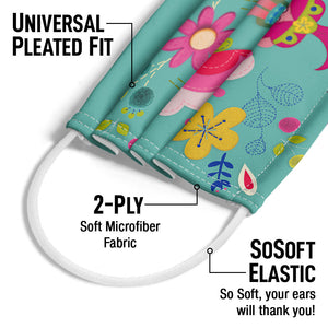 Load image into Gallery viewer, Trolls Poppy Crafty Adult Universal Pleated Fit, 2-Ply, SoSoft Elastic Earloops