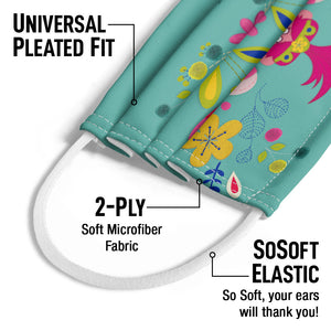 Load image into Gallery viewer, Trolls Poppy Crafty Kids Universal Pleated Fit, 2-Ply, SoSoft Elastic Earloops