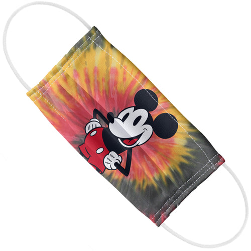 Mickey Mouse Tie Dye Adult Flat View