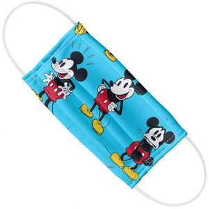 Mickey Mouse Poses Pattern Adult Flat View